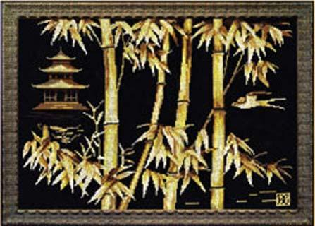 """Схема вышивки крестом """"Пагода"""