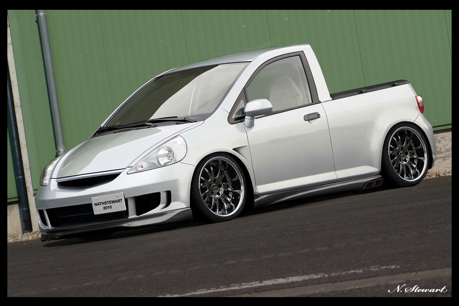 honda jazz pick up by nathstewart we are petrolheads. Black Bedroom Furniture Sets. Home Design Ideas