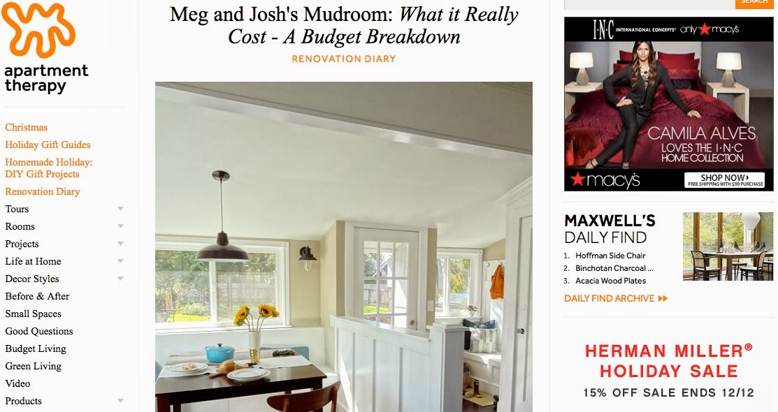 http://www.apartmenttherapy.com/meg-and-joshs-mudroom-what-it-really-cost-a-budget-breakdown-renovation-diary-197873