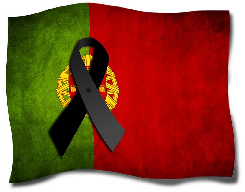 Resultado de imagem para portugal está de luto