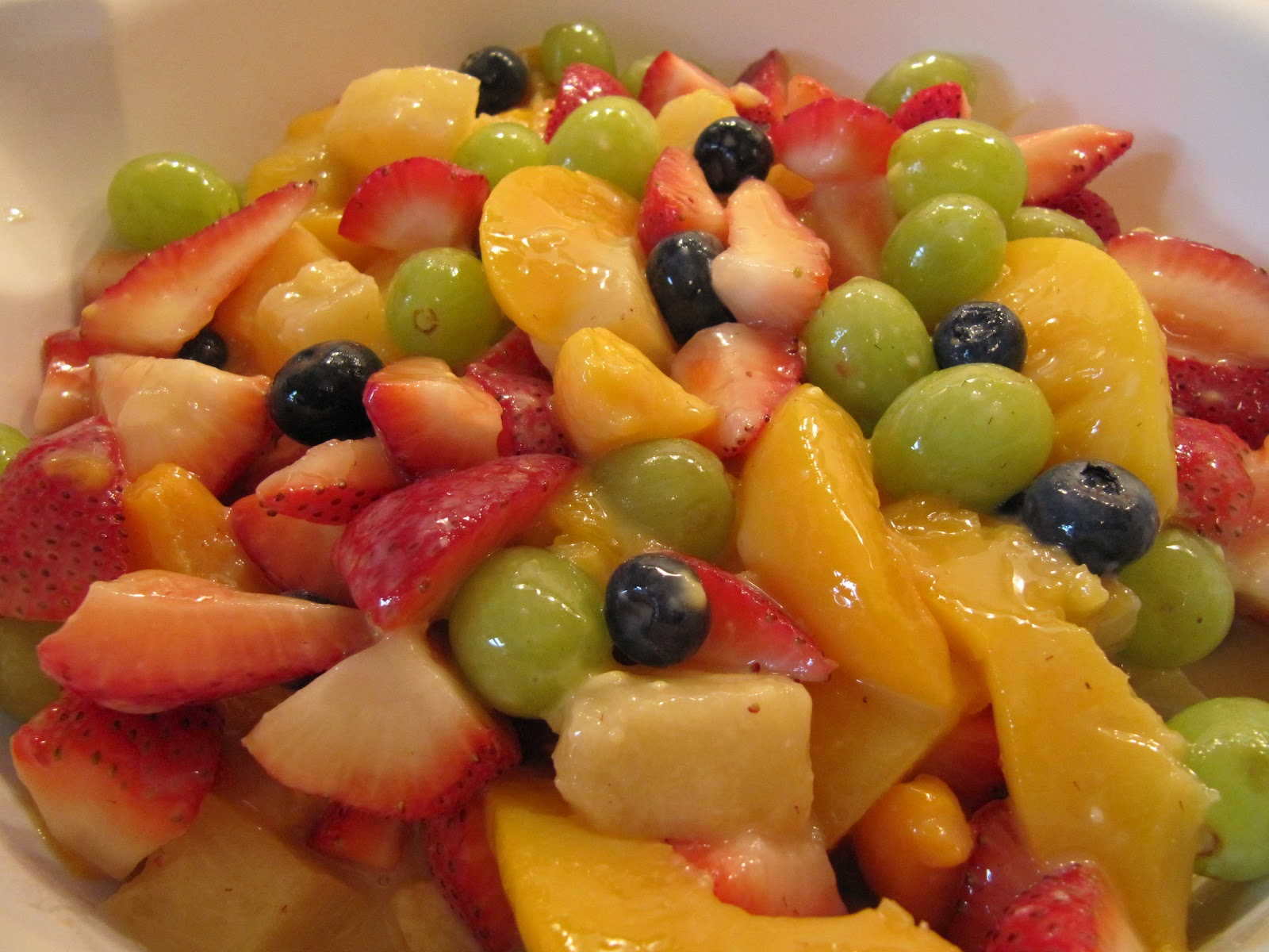 Fruit Salad Recipe Tree With Ice Cream Decoration Ideas With Whipped