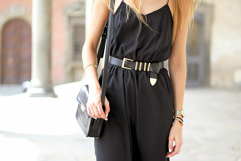 black midi dress, crossbody bag, fashion blogger, summer outfit