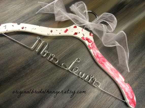 Custom Wedding Dress Hangers 43 Awesome I just loved when