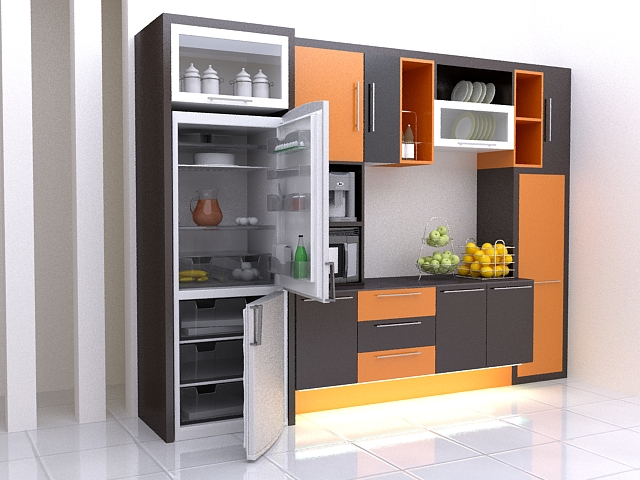 Kitchen Set Mrs.Maria-Jakarta Design&Producing by Gonky Interior