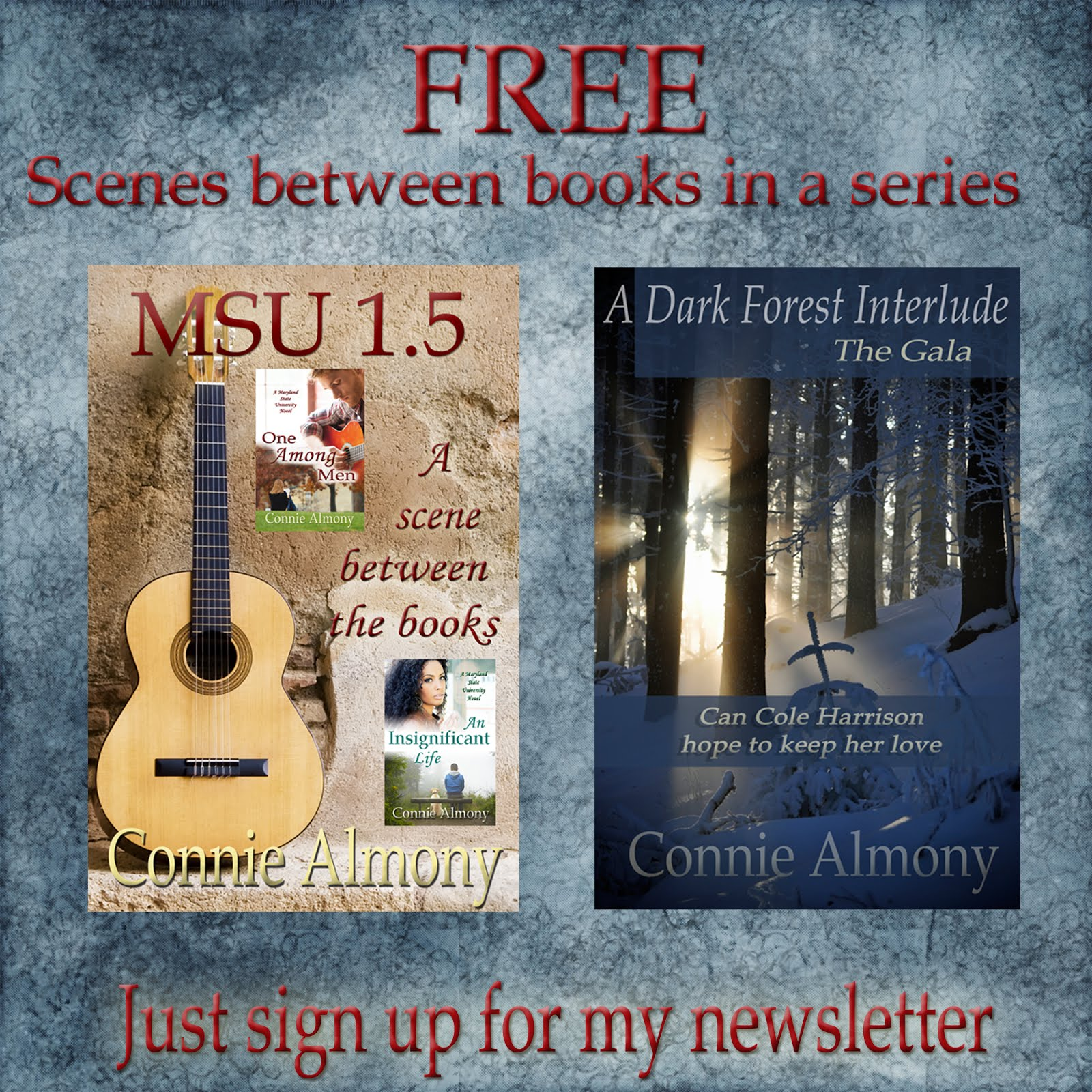 Connie's Author Newsletter