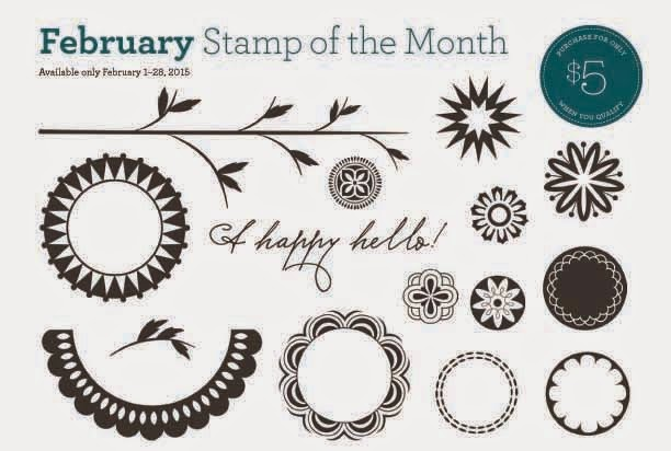 Close to My Heart February Stamp of the Month