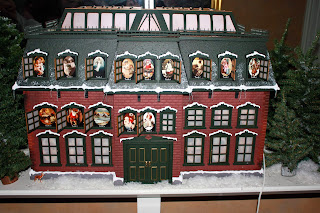 christmas vacation advent house