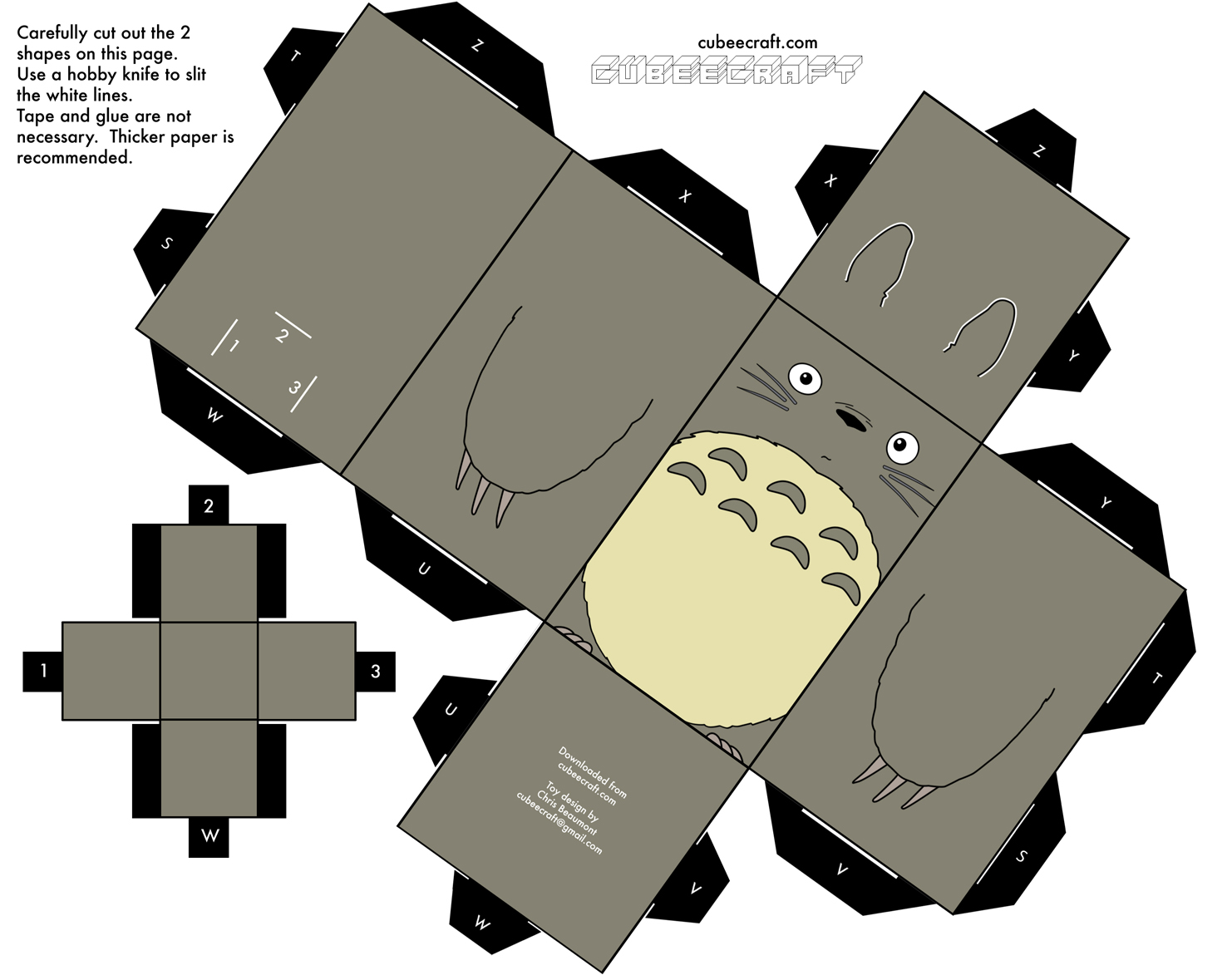Totoro Make Your Own
