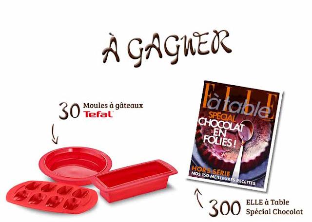 Instant Gagnan Nestlé 300 Elle à Table et 30 moules à gagner !