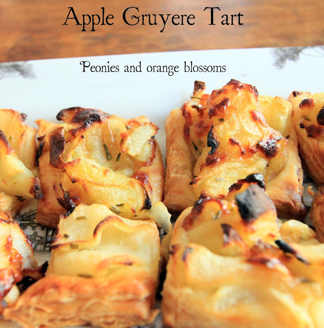 Recipe for caramelized onion, apple, and gruyere tarts - printable ...