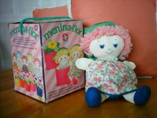 brinquedos anos 90 menina flor