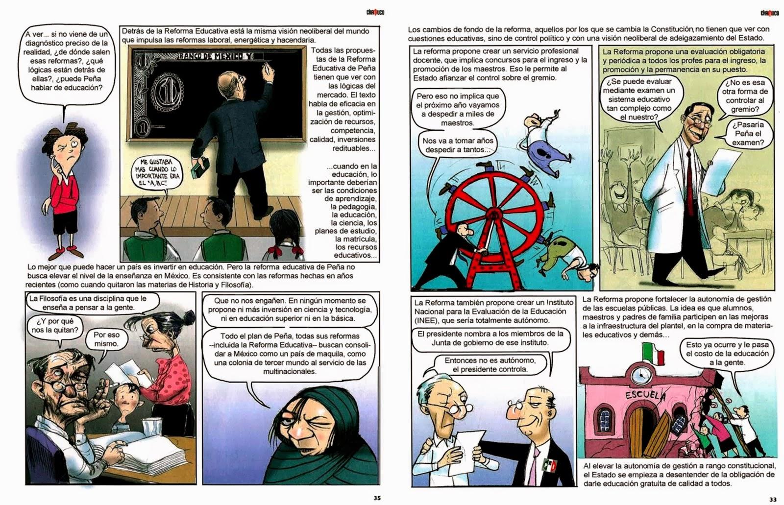 Reforma Educativa de para principiantes.