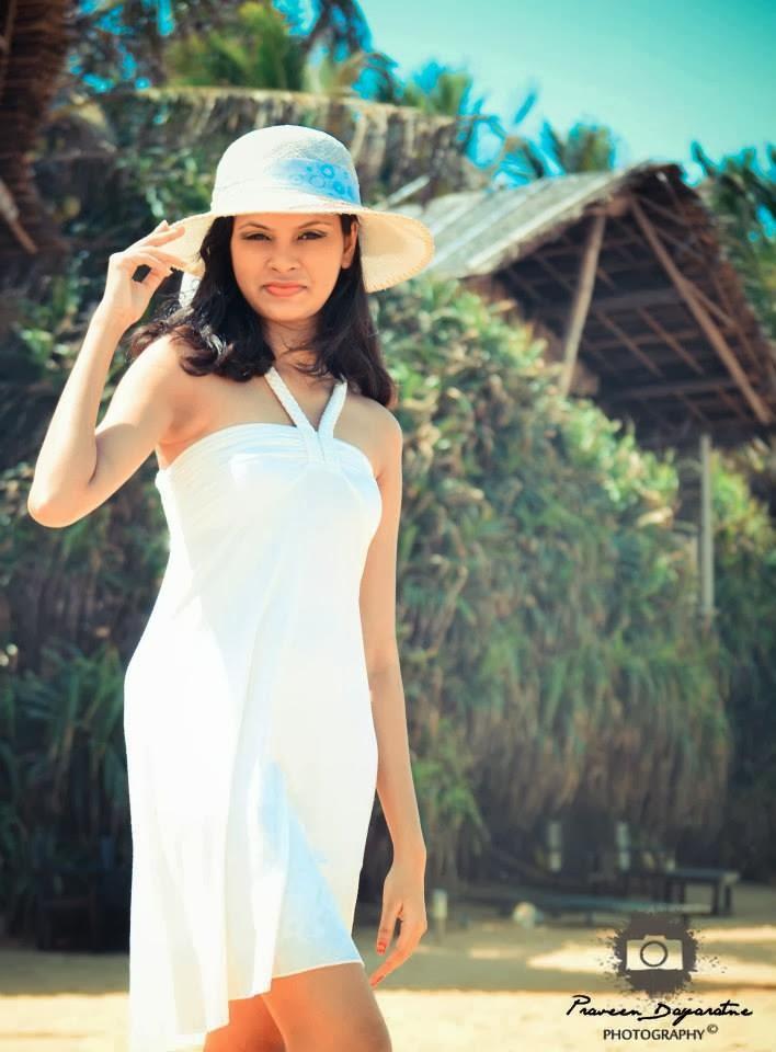 Madhu Mendis hot white