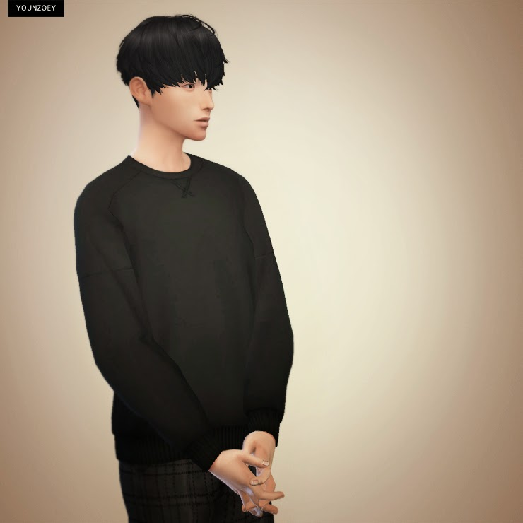 My Sims 4 Blog Crew Neck Sweaters For Adult Males By