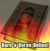 Burn A Quran On Line