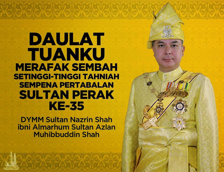 Profil Lengkap Raja Nazrin Sultan Perak Ke 35
