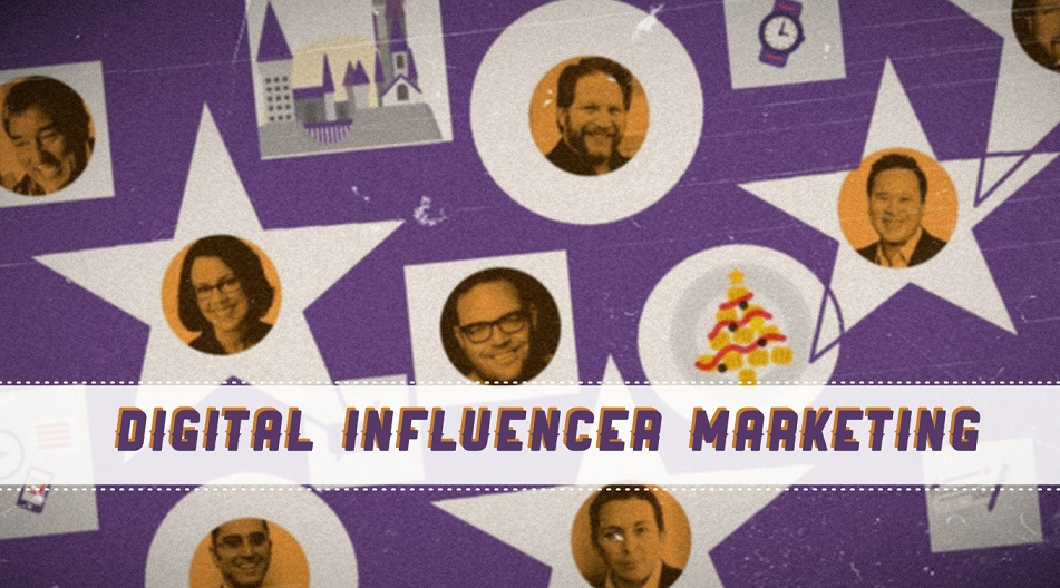 Digital Influencer Marketing for Brands - infographic