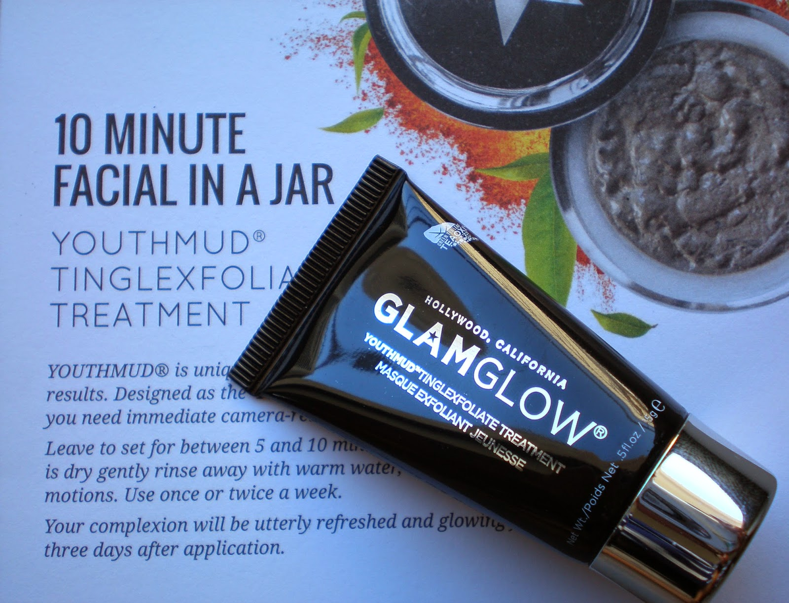 Glam Glow Youth Mud Face Mask