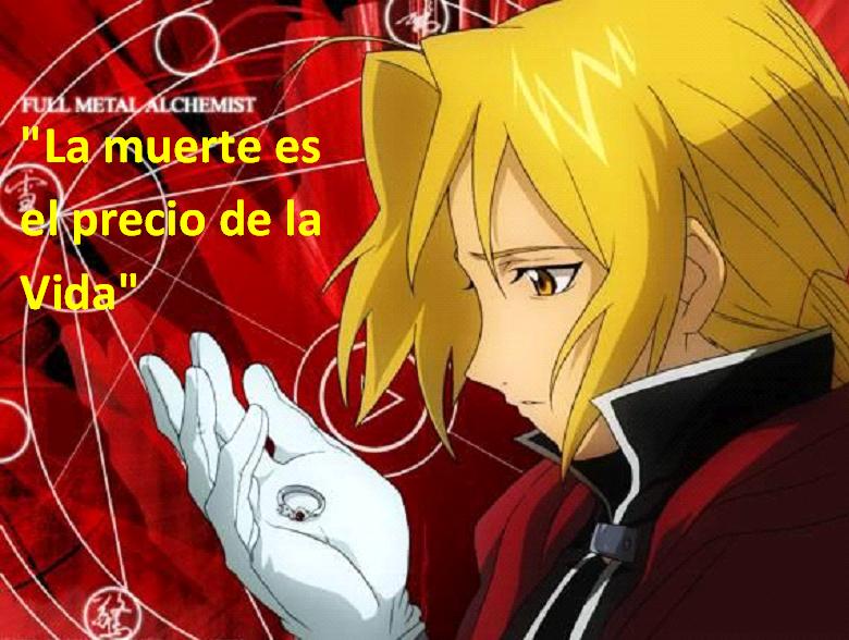 Frases con fotos del anime. EDWARD