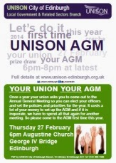 Branch AGM deadlines