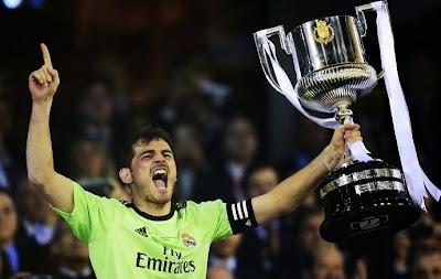 Cassilas com a Copa do Rei 2014