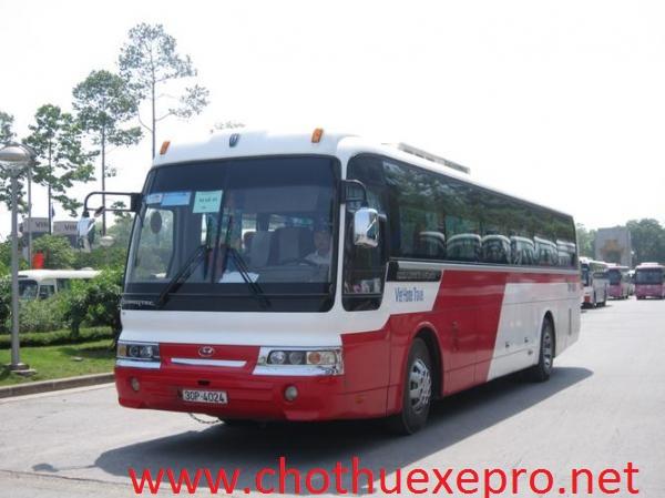 Cho thuê xe 45 chỗ tại Hà Nội
