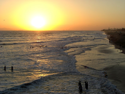 Good life Huntington Beach Sunset