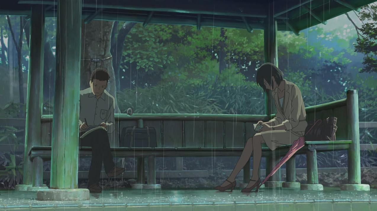 Prevalentemente anime e manga il giardino delle parole for Soluzioni il giardino delle parole