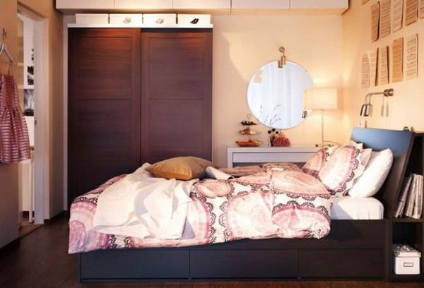 desain kamar tidur terbaik ikea 2012