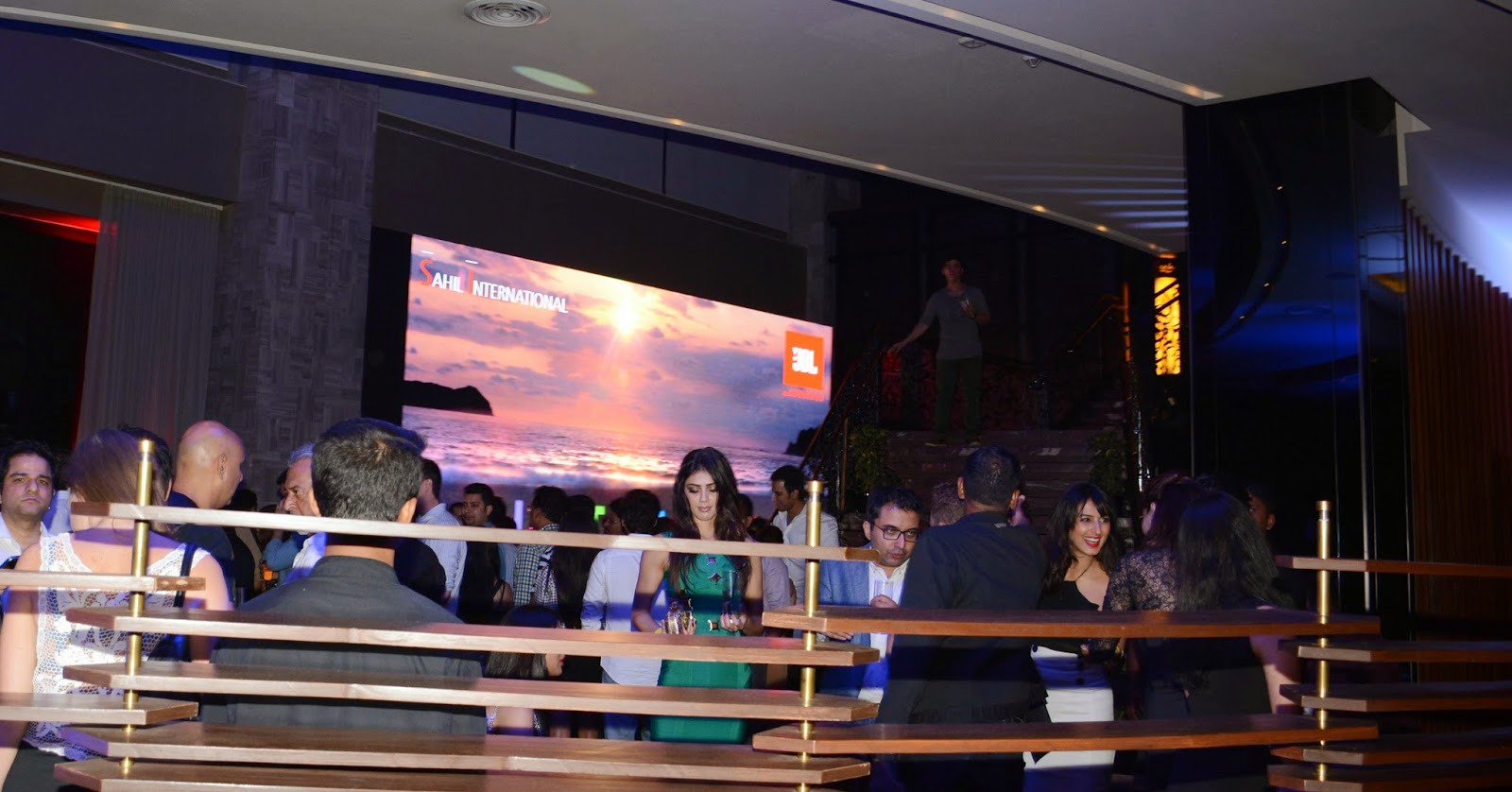 LED Screens at the JBL Just Be Loud Party