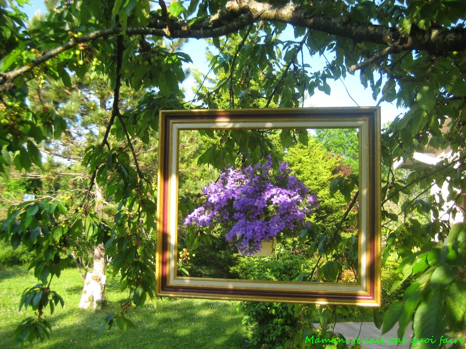 Maman je sais pas quoi faire un tableau dans mon jardin - Campe dans mon jardin ...
