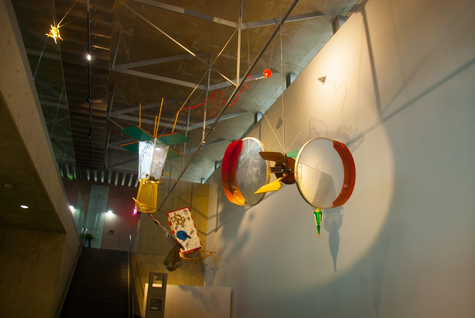 越後妻有里山現代美術館 キナーレ 展示 カーブミラー