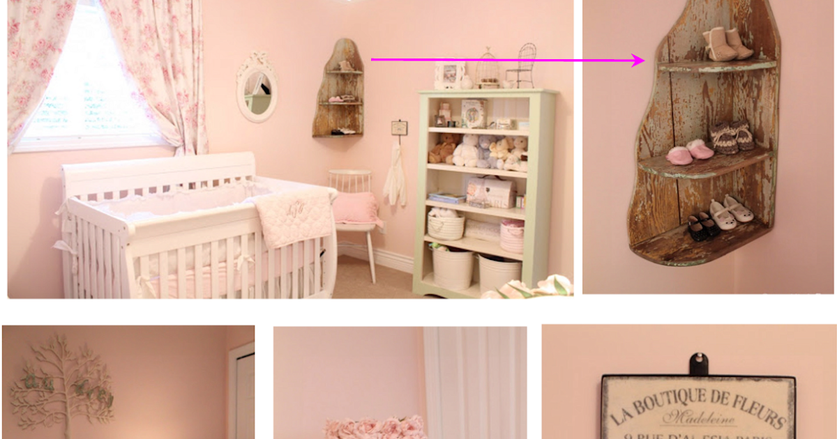 mulher preciosa quarto de menina shabby chic vintage um. Black Bedroom Furniture Sets. Home Design Ideas