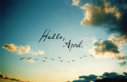 Here Is Now Hello April