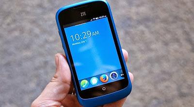 ZTE Siapkan Smartphone Firefox OS Baru