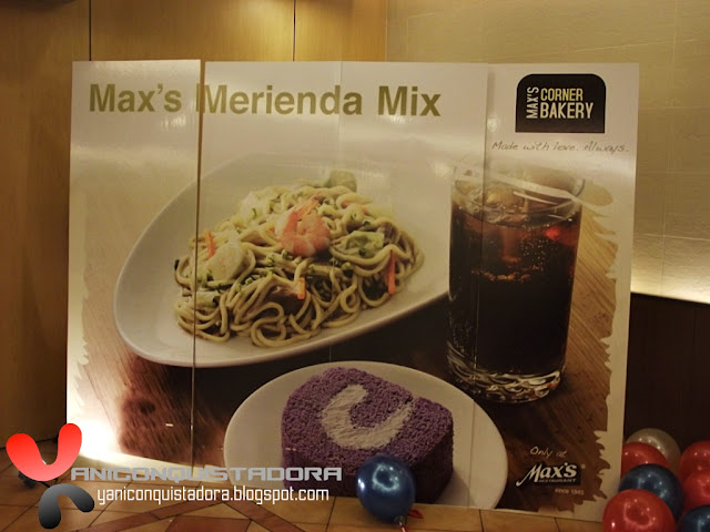Max's Merienda Mixes Launching at Greenbelt 2