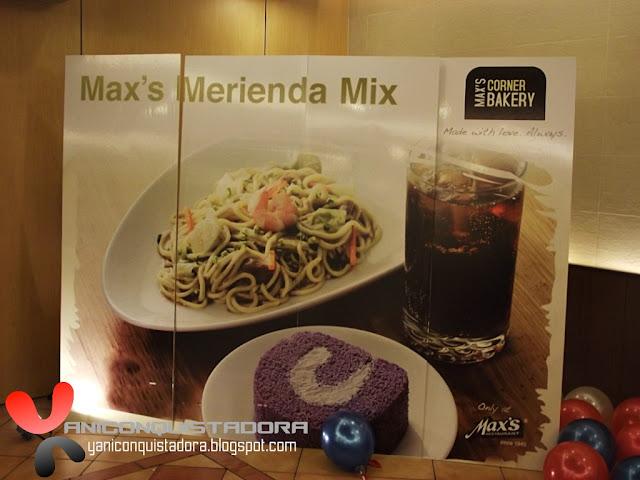 Max's Merienda Mixes Launching at Greenbelt 2