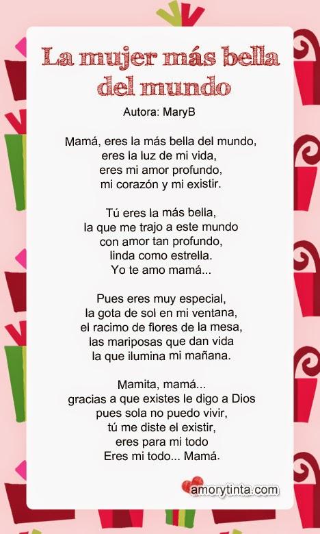 poema a la madre en su día