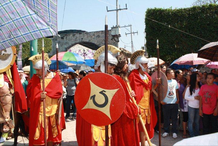 Viernes Santo en Iramuco gto, Semana Santa 2011