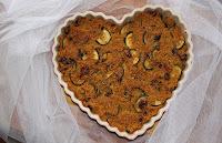 vegan quinoa frittata s cuketou a susenymi rajcaty