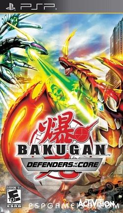 Bakugan, Defenders Of The Core, psp download, mediafire