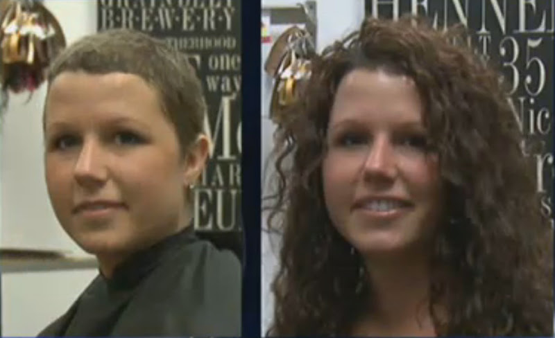 Jon richards salon hair extensions after chemo hair extensions beckys story pmusecretfo Gallery