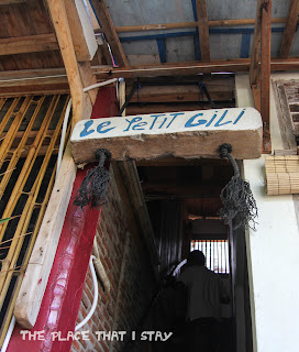 Indonesia - Lombok - Gili Trawangan - Le Petit Gili - Stairway to the room