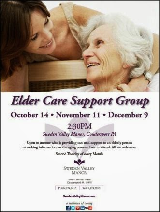 12-9 SVM Elder Care Support Group