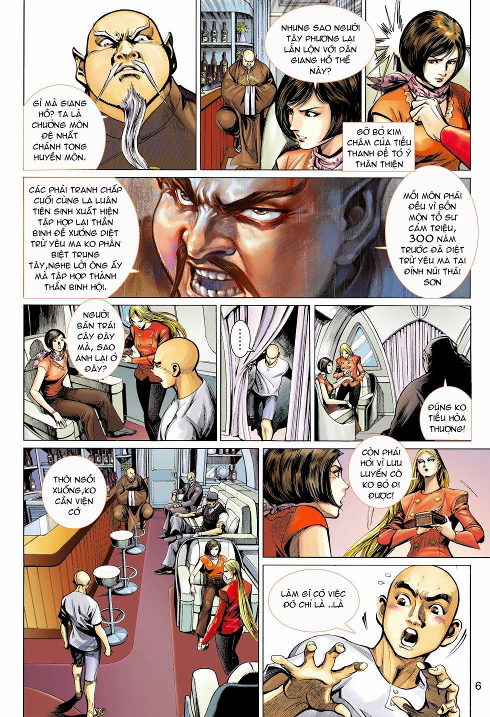 Thần Binh 4 chap 26 - Trang 7