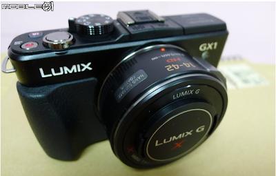 Fotografie in anteprima della Panasonic GX1