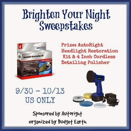 Enter the Brighten Your Night Giveaway. Ends 10/13.