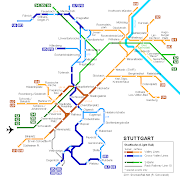 Stuttgart Metro Map Pictures. The Stuttgart Stadtbahn is not a absolute . metro stuttgart map