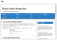 Simple Faster Responsive