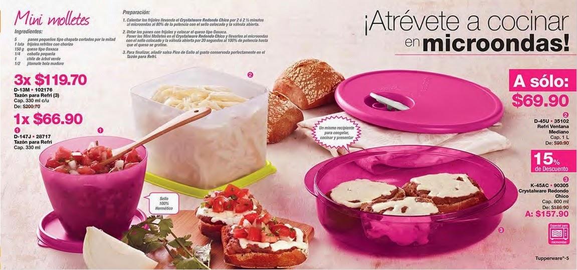 Vende tupperware tampico mayo 2015 - Atrevete a cocinar ...